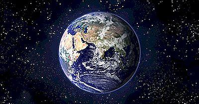 Les Hémisphères De La Planète Terre