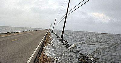 ¿Cuánto De Louisiana Está Debajo Del Nivel Del Mar?