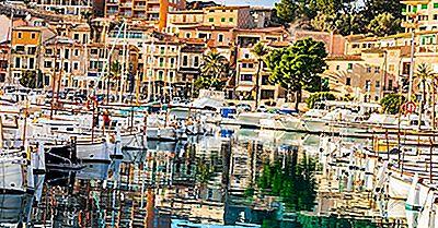 Le Più Grandi Isole Della Spagna Per Dimensione
