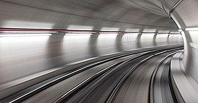 Les Plus Longs Tunnels Aux États-Unis