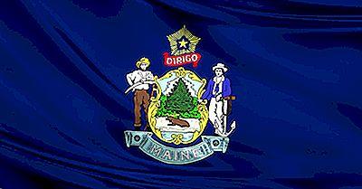 Bandera Del Estado De Maine
