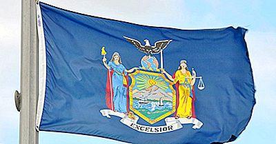 Bandiera Dello Stato Di New York