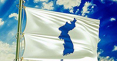 Norte Y Corea Del Sur Marchan Bajo La Misma Bandera
