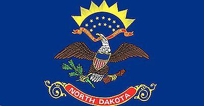 Drapeau De L'État Du Dakota Du Nord