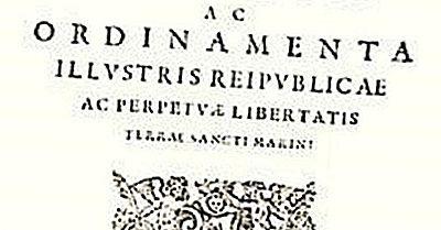 Constituições Mais Antigas Ainda Estão Sendo Usadas Hoje
