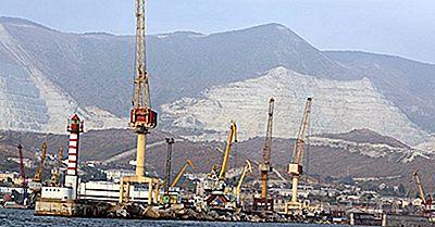Porto Dell'Acqua Calda Della Russia