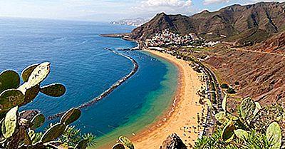 De Sju Huvudöarna På Kanarieöarna