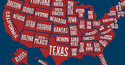 The Singly Landlocked States Of The USA