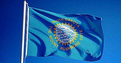 Bandeira Do Estado De Dakota Do Sul