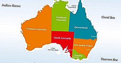 Os Estados Da Austrália