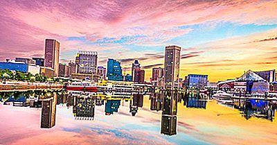 I Più Alti Edifici A Baltimora, Nel Maryland