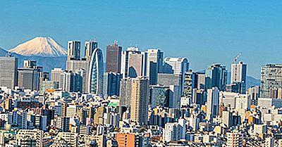 Os Edifícios Mais Altos Em Tóquio