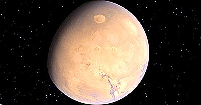 Die Höchsten Berge Auf Dem Mars