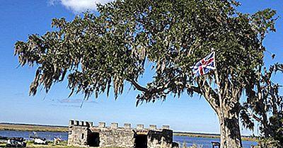 ¿Qué Y Dónde Está El Monumento Nacional Fort Frederica?