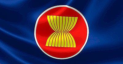 Que Signifient Les Couleurs Et Les Symboles Du Drapeau De L'ASEAN?