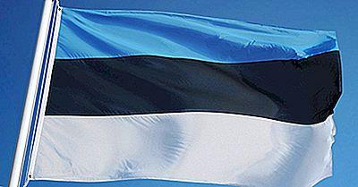 Vad Betyder Färgar Och Symboler Av Estlands Flagga?