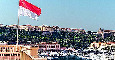Vad Betyder Färgerna Och Symbolerna På Flaggan Av Monaco?