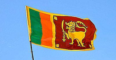 Vad Betyder Färgar Och Symboler På Flaggan Av Sri Lanka?