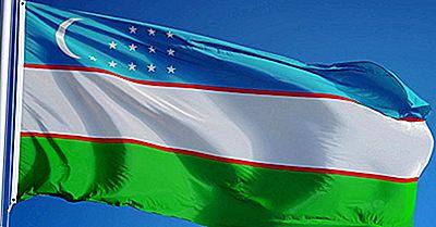 Vad Betyder Färgerna Och Symbolerna På Uzbekistans Flagga?