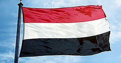 Vad Betyder Färgar Och Symboler Av Flaggan Av Yemen?