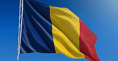 Hva Betyr Farger Av Flagg Av Romania?
