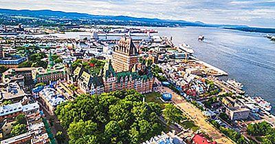 Où Sont Les Capitales Des Provinces Et Territoires Canadiens?