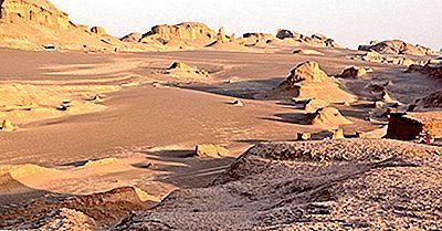 Var Är Dasht-E Lut Desert?