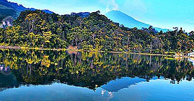 ¿Dónde Está El Monte Sinabung?