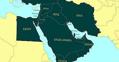 Vilka Är Mellanöstern-Länderna?