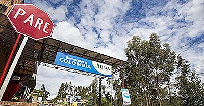 Quels Pays Frontaliers En Colombie?