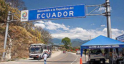 Vilka Länder Gränsar Ecuador?