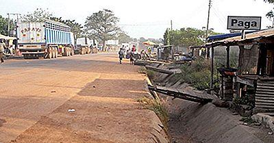 ¿Qué Países Limitan Con Ghana?