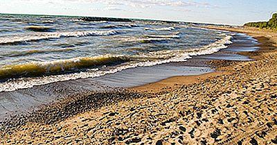 Quais Estados Border Lake Erie?