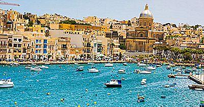 Quelles Sont Les Deux Nations Insulaires Indépendantes Situées En Mer Méditerranée?