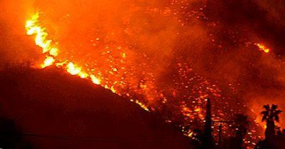 I Peggiori Incendi In California